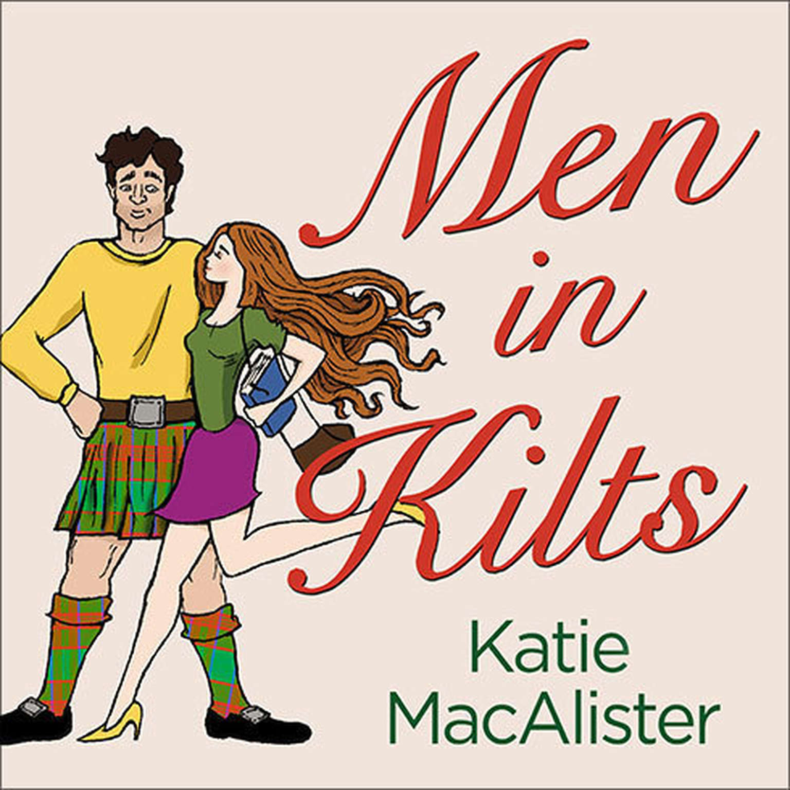 Printable Men in Kilts Audiobook Cover Art