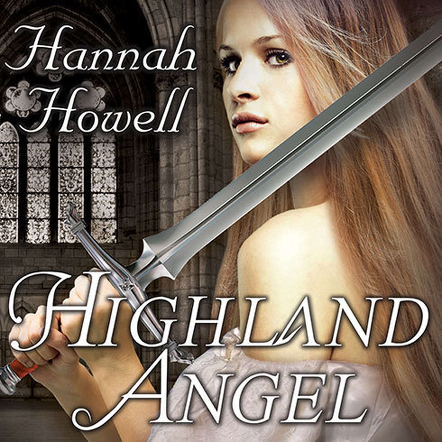 Printable Highland Angel Audiobook Cover Art