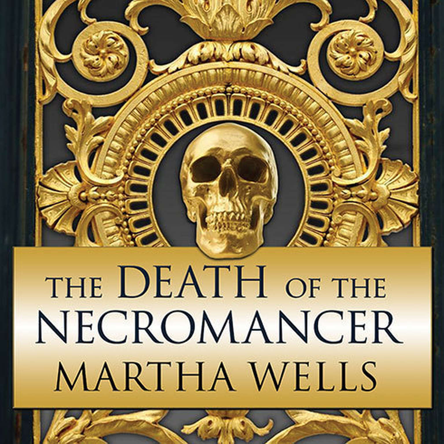 Printable The Death of the Necromancer Audiobook Cover Art