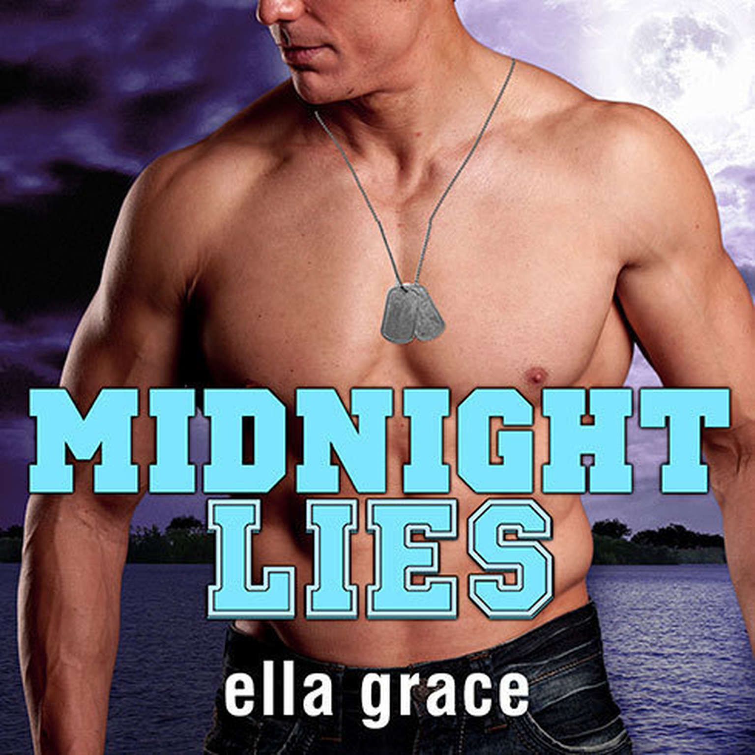 Printable Midnight Lies Audiobook Cover Art