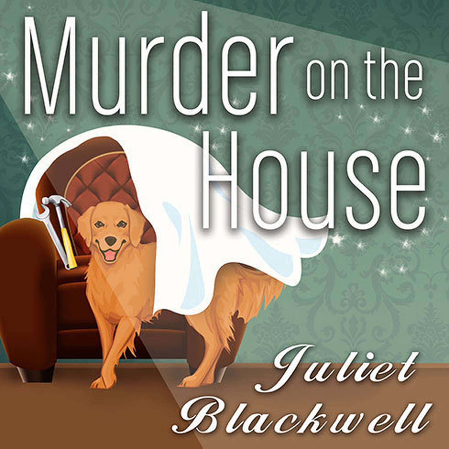 Printable Murder on the House Audiobook Cover Art