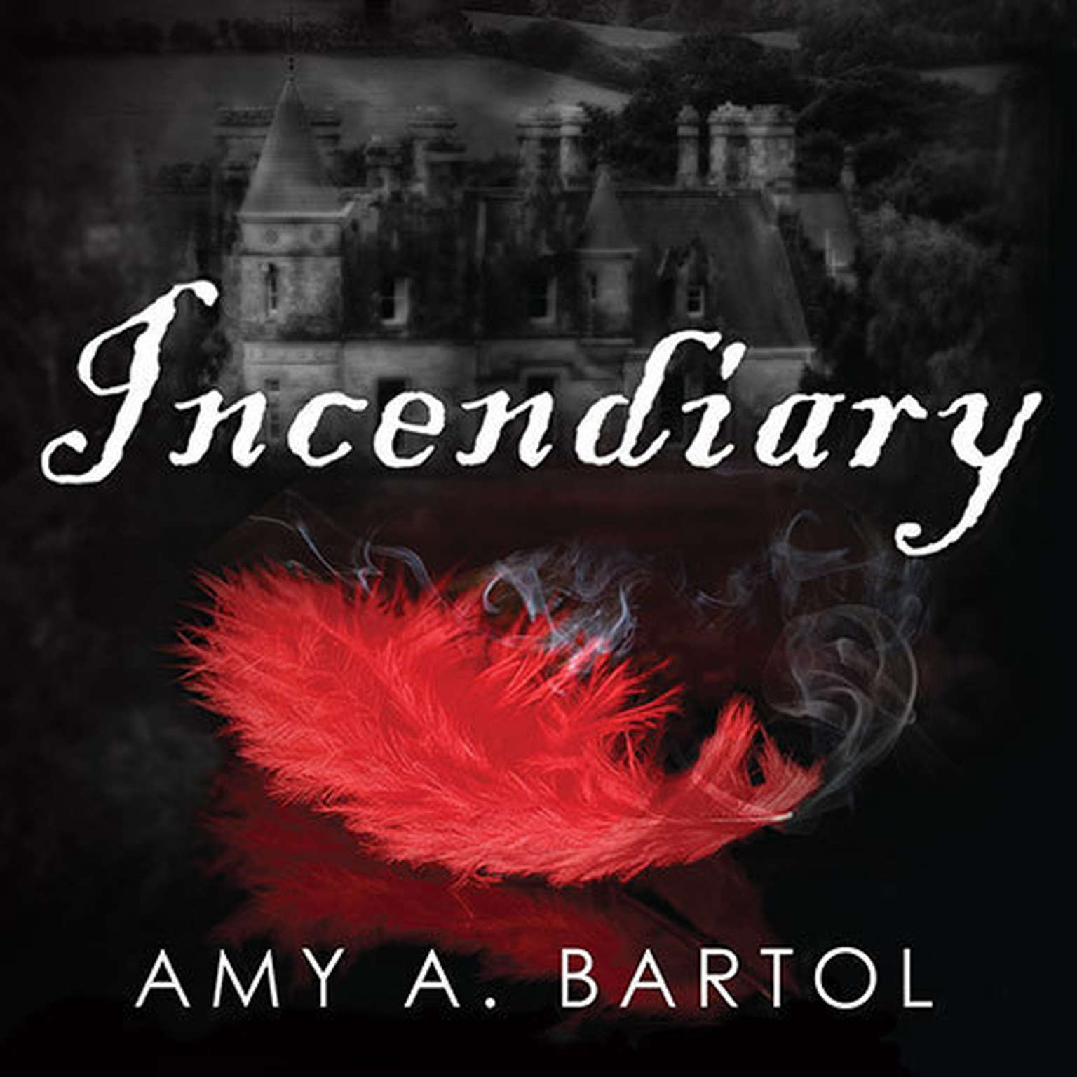 Printable Incendiary Audiobook Cover Art