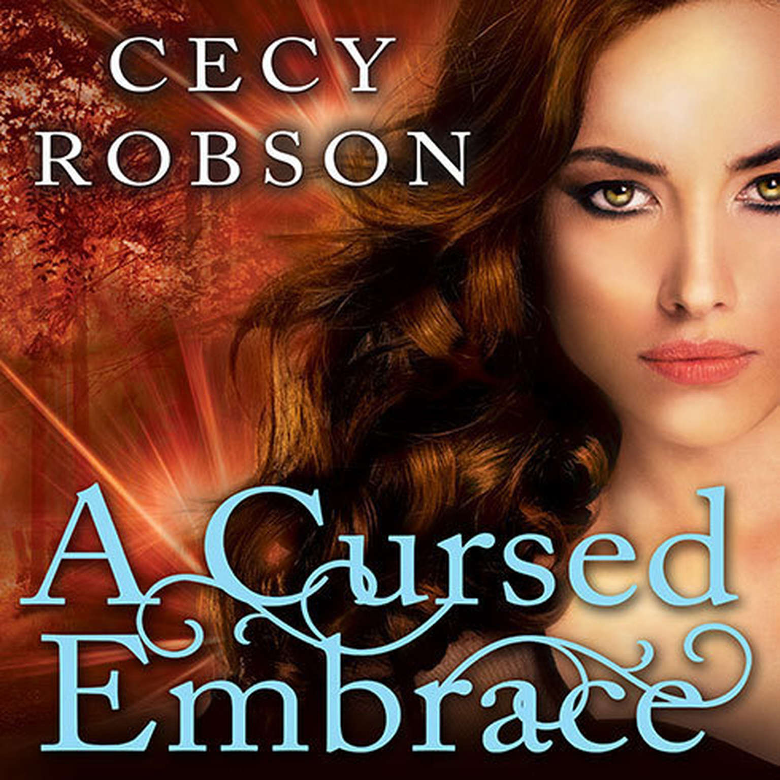 Printable A Cursed Embrace: A Weird Girls Novel Audiobook Cover Art