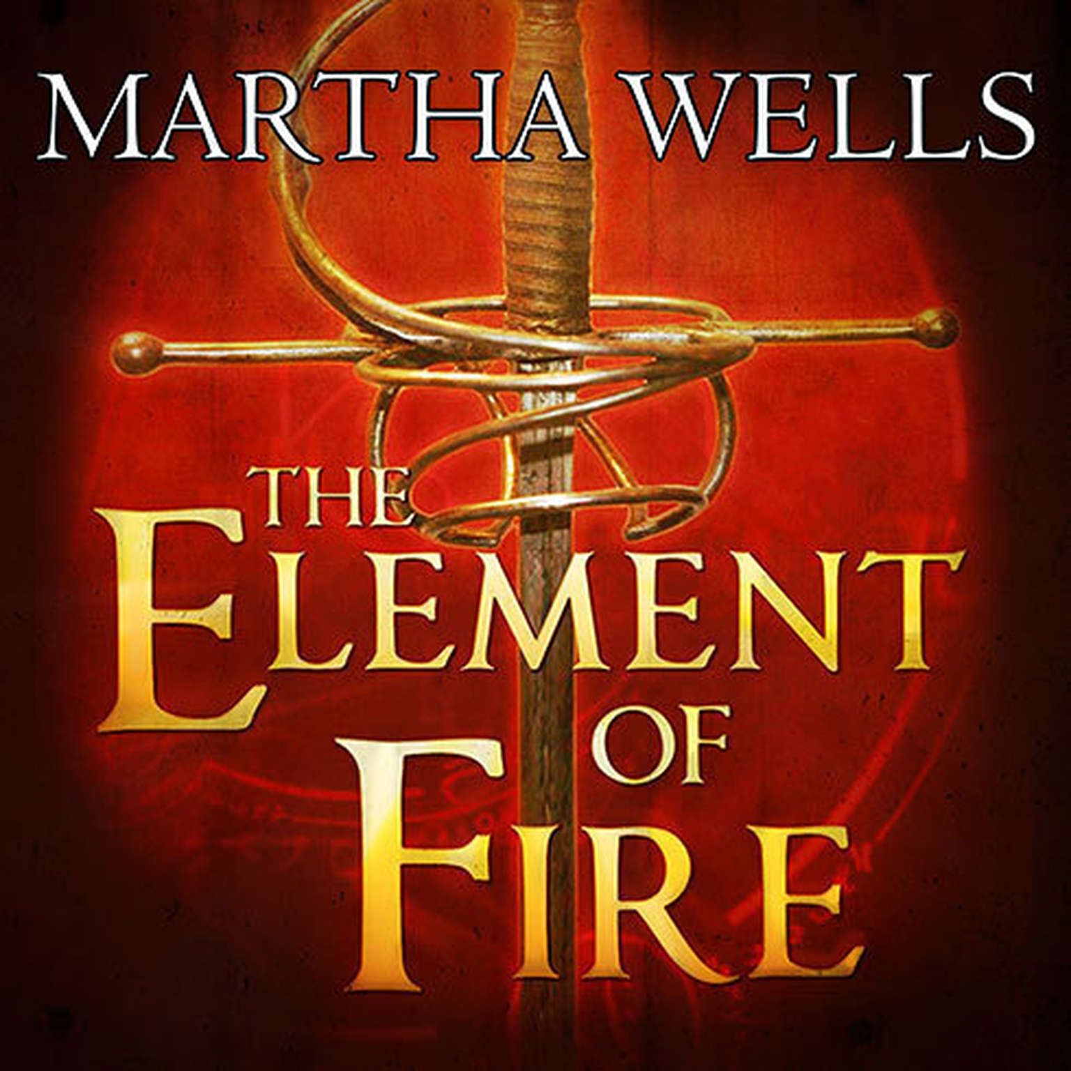 Printable The Element of Fire Audiobook Cover Art