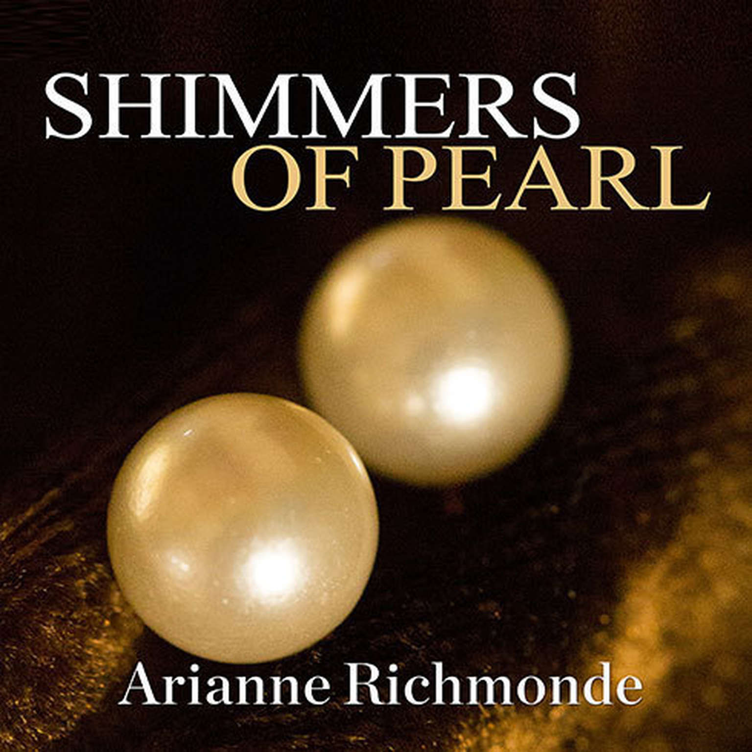 Printable Shimmers of Pearl Audiobook Cover Art