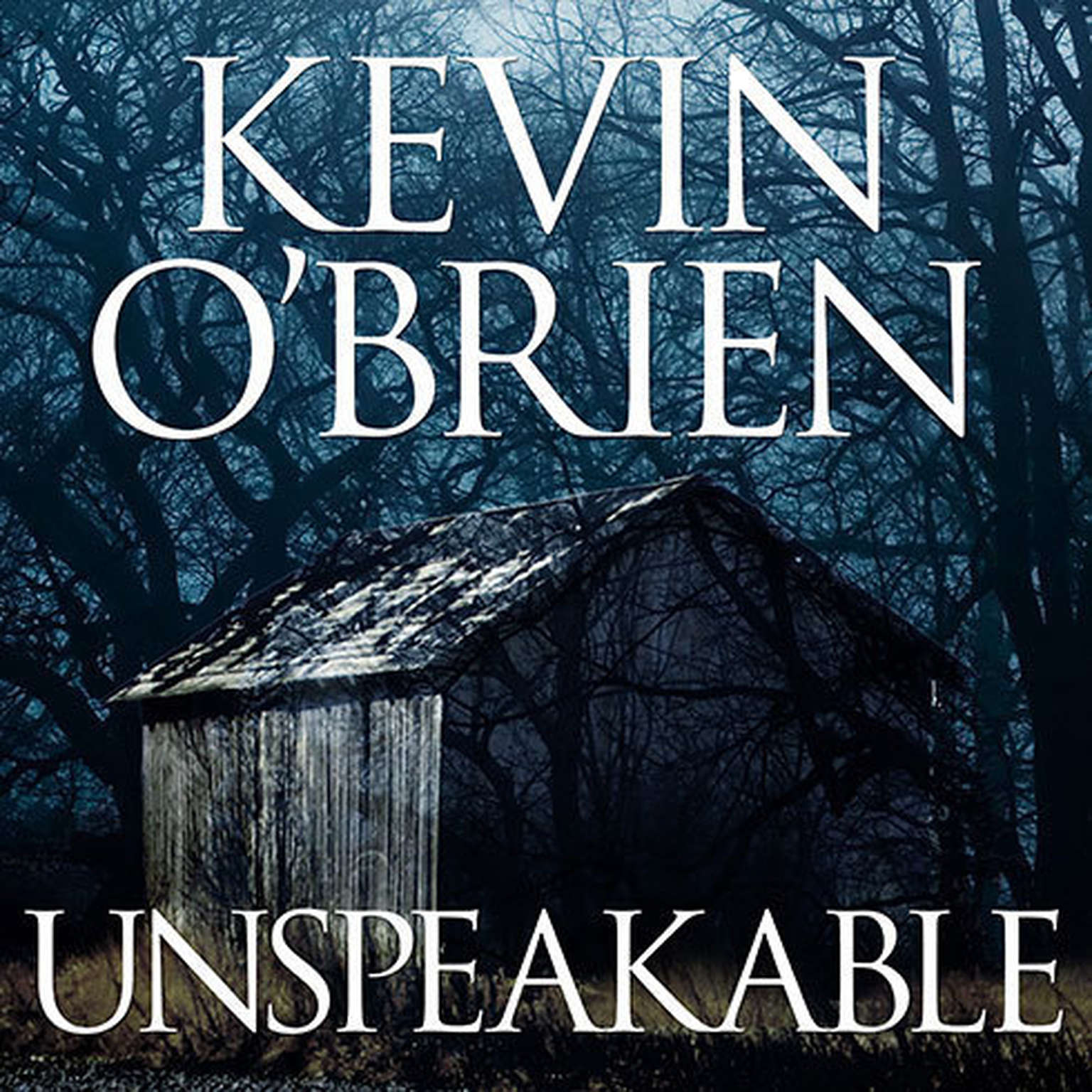 Printable Unspeakable Audiobook Cover Art