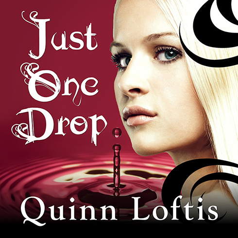 Printable Just One Drop Audiobook Cover Art