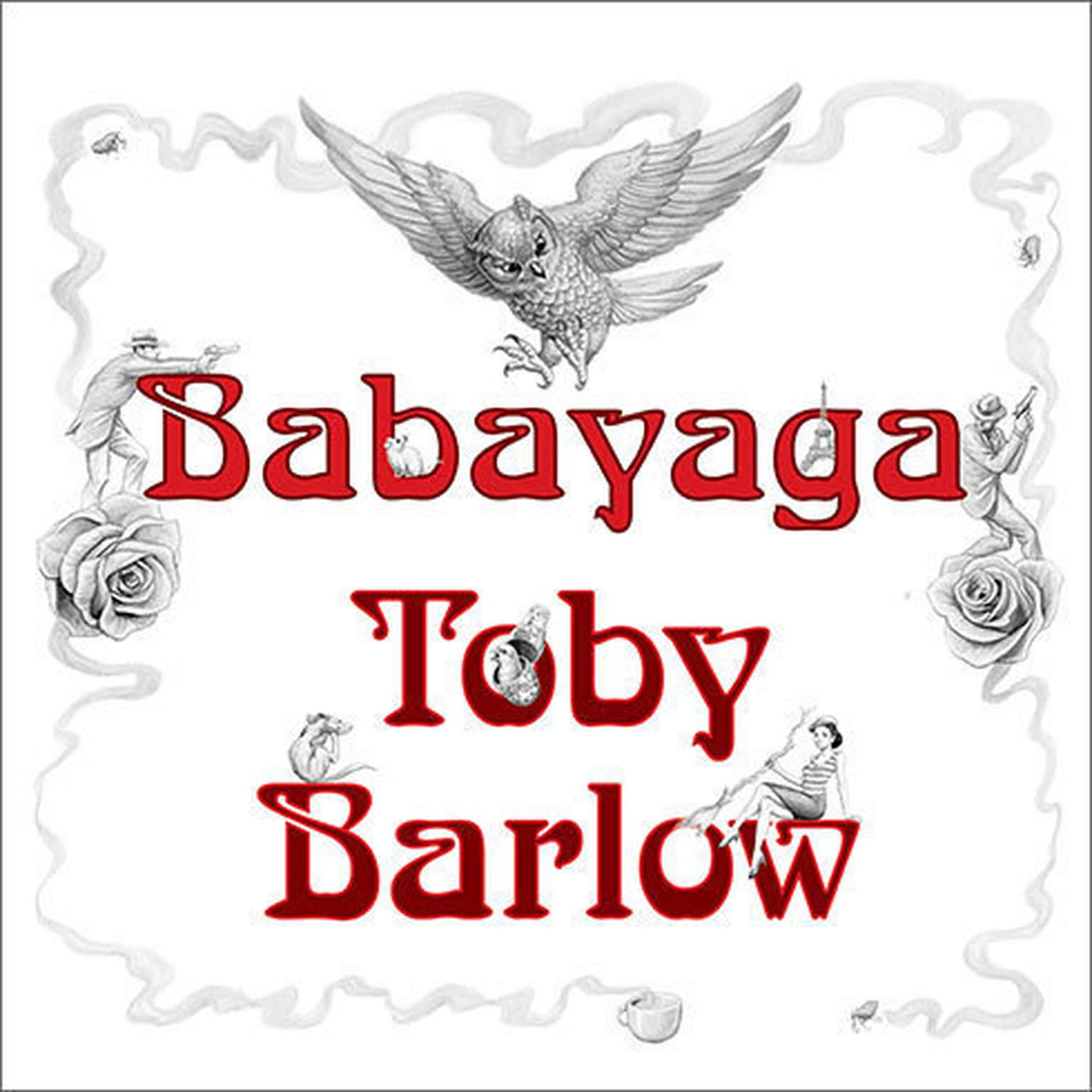 Printable Babayaga Audiobook Cover Art