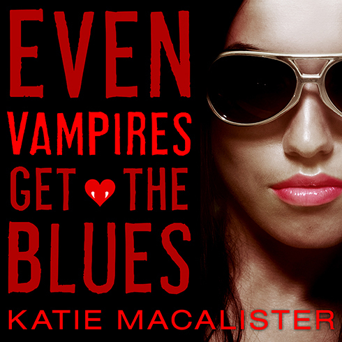 Printable Even Vampires Get the Blues Audiobook Cover Art