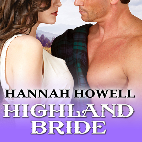 Printable Highland Bride Audiobook Cover Art