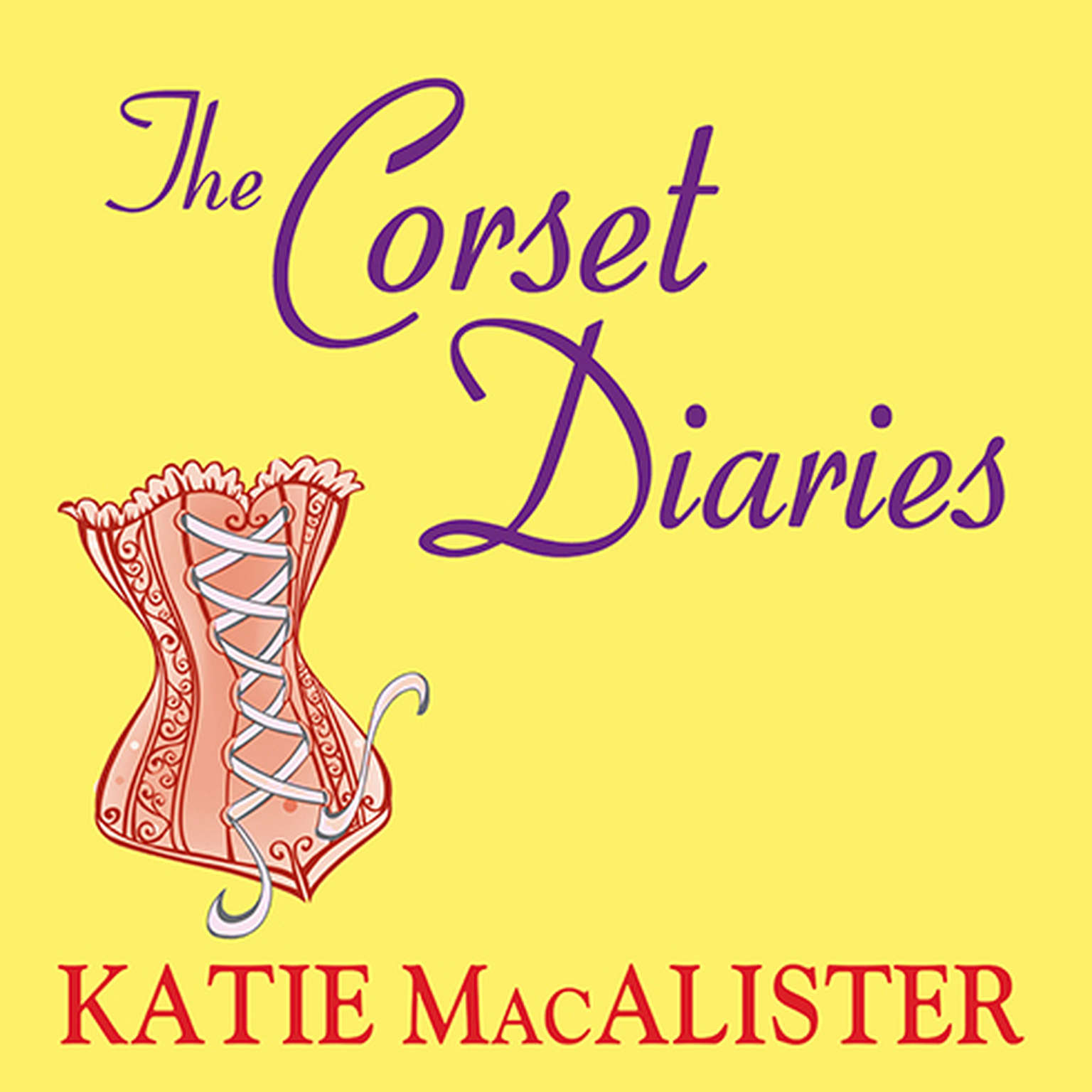 Printable The Corset Diaries Audiobook Cover Art