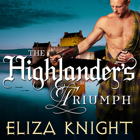 Printable The Highlander's Triumph Audiobook Cover Art