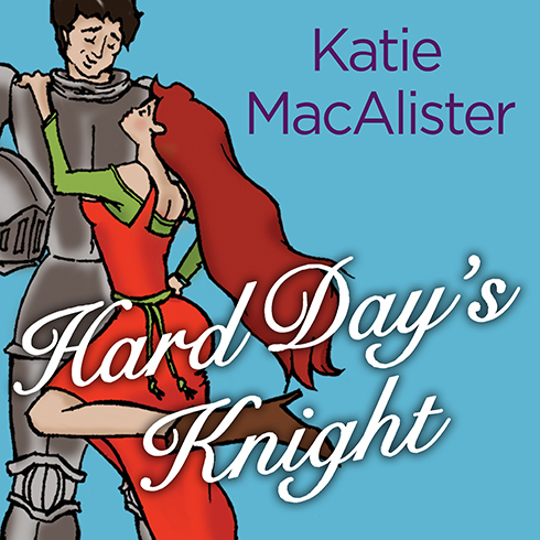 Printable Hard Day's Knight Audiobook Cover Art