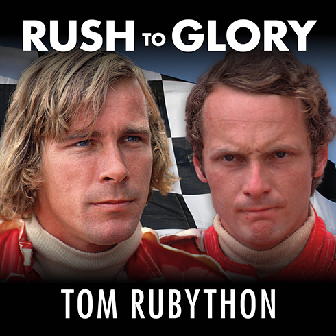 Printable Rush to Glory: Formula 1 Racing's Greatest Rivalry Audiobook Cover Art