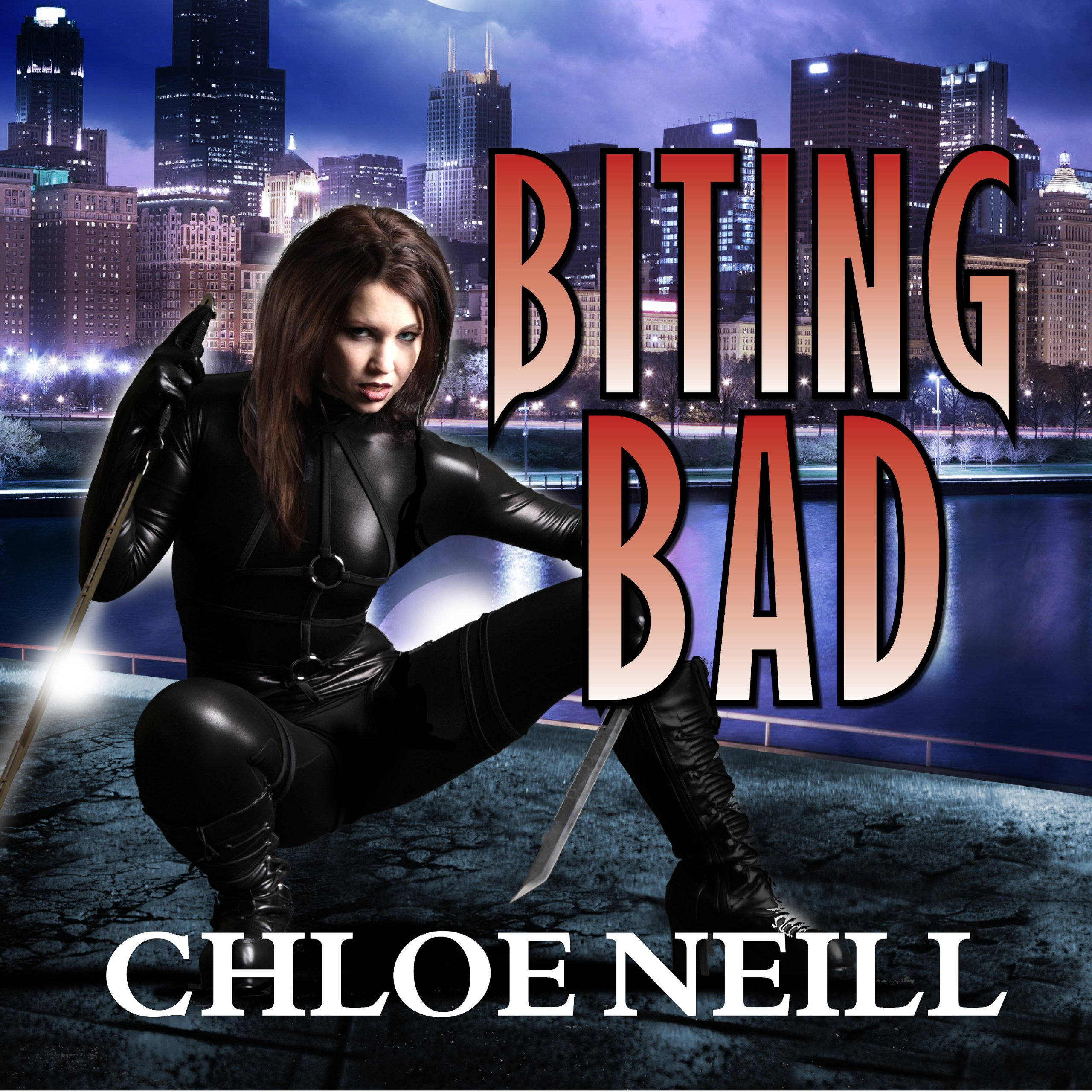 Printable Biting Bad: A Chicagoland Vampires Novel Audiobook Cover Art