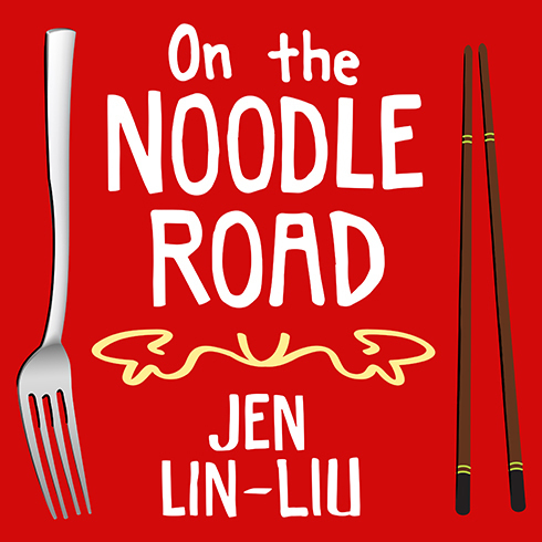 Printable On the Noodle Road Audiobook Cover Art