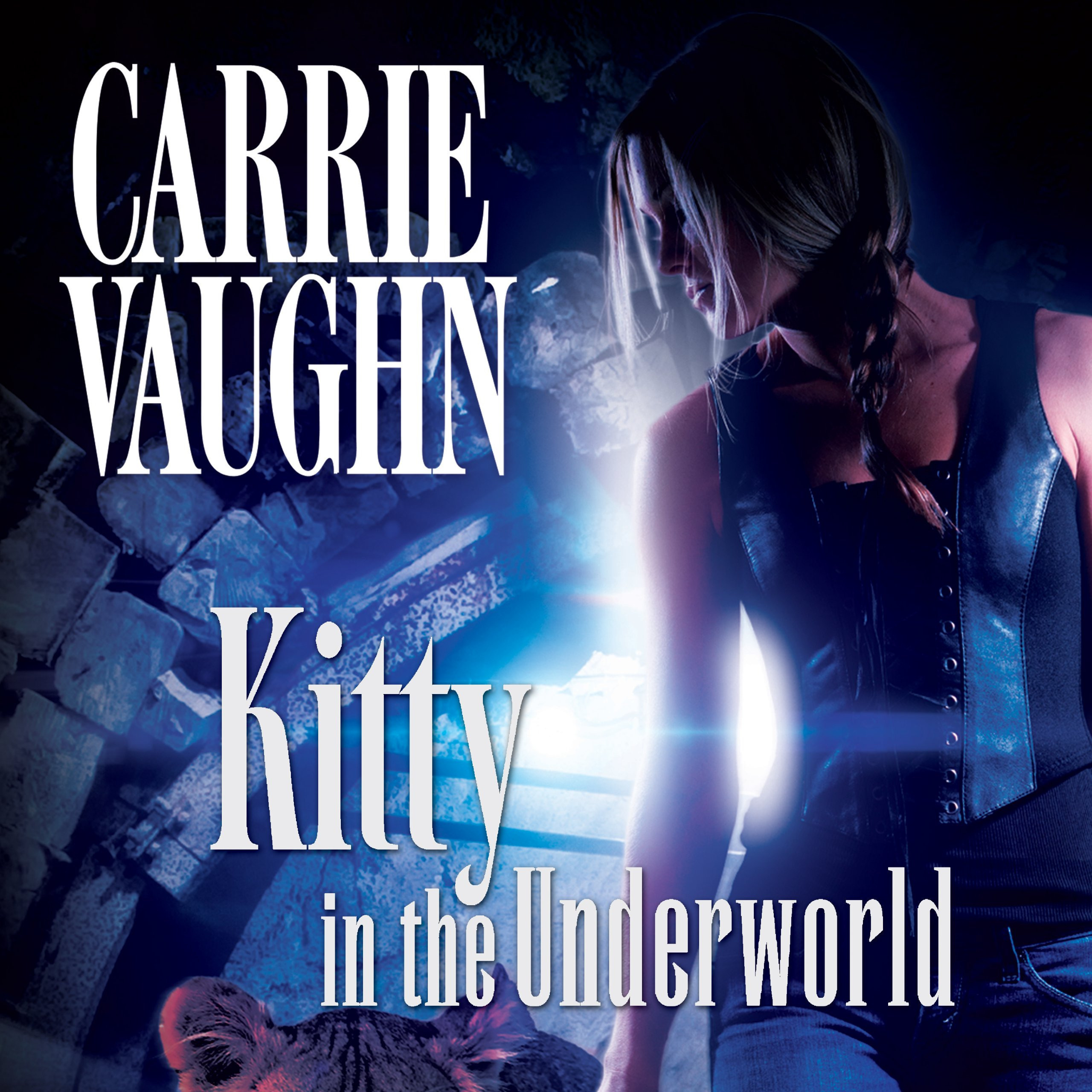 Printable Kitty in the Underworld Audiobook Cover Art