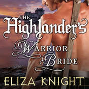 The Highlanders Warrior Bride Audiobook, by Eliza Knight