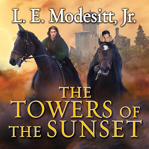 Printable The Towers of the Sunset Audiobook Cover Art
