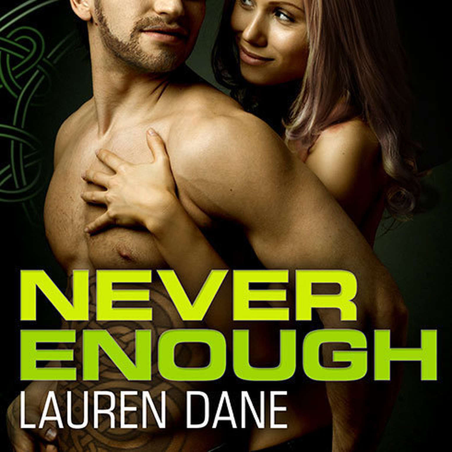 Printable Never Enough Audiobook Cover Art