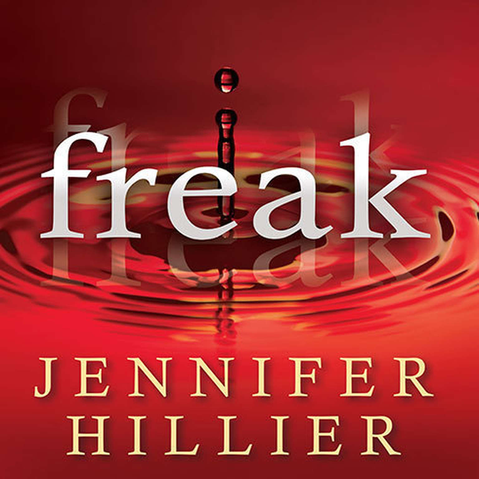 Printable Freak Audiobook Cover Art