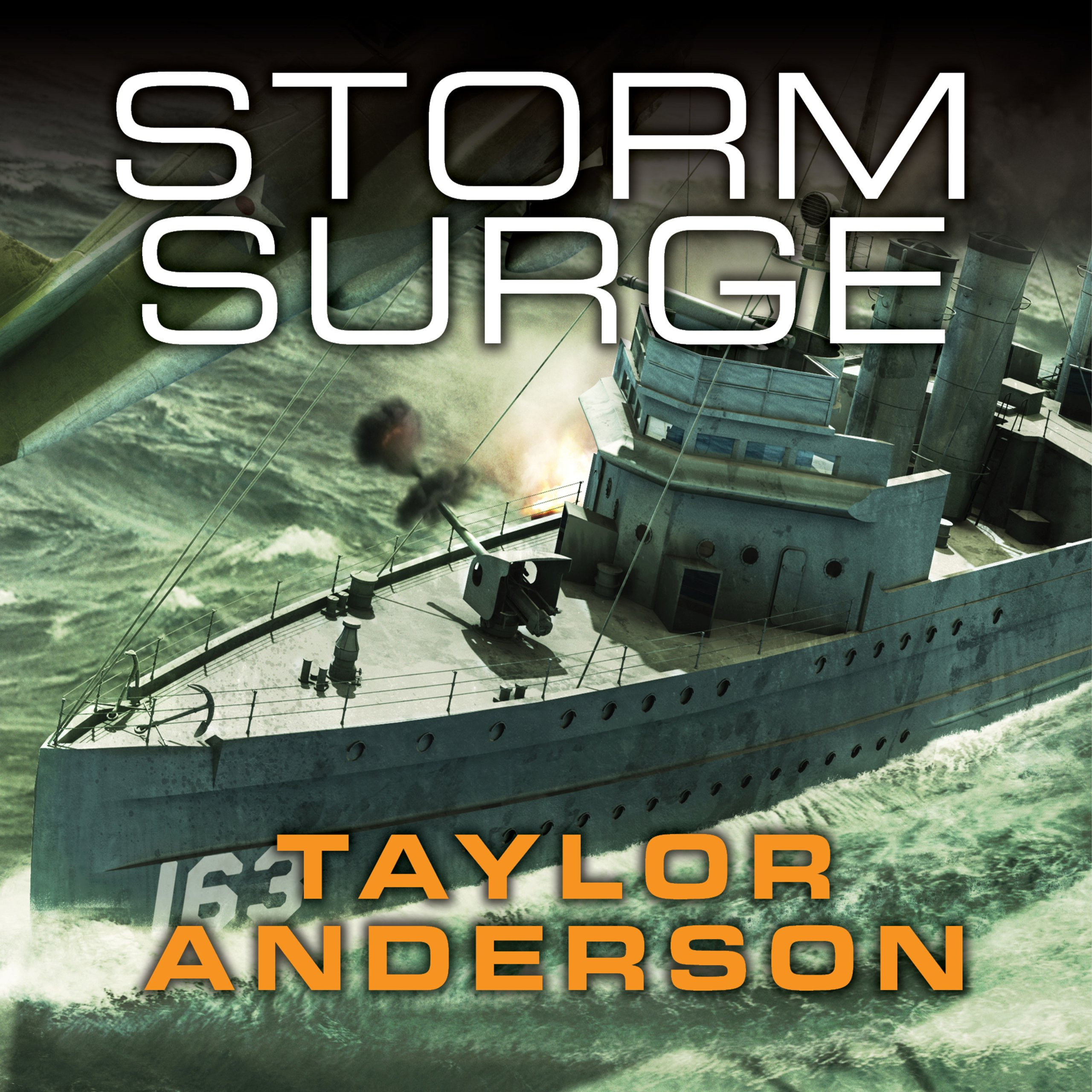 Printable Storm Surge Audiobook Cover Art