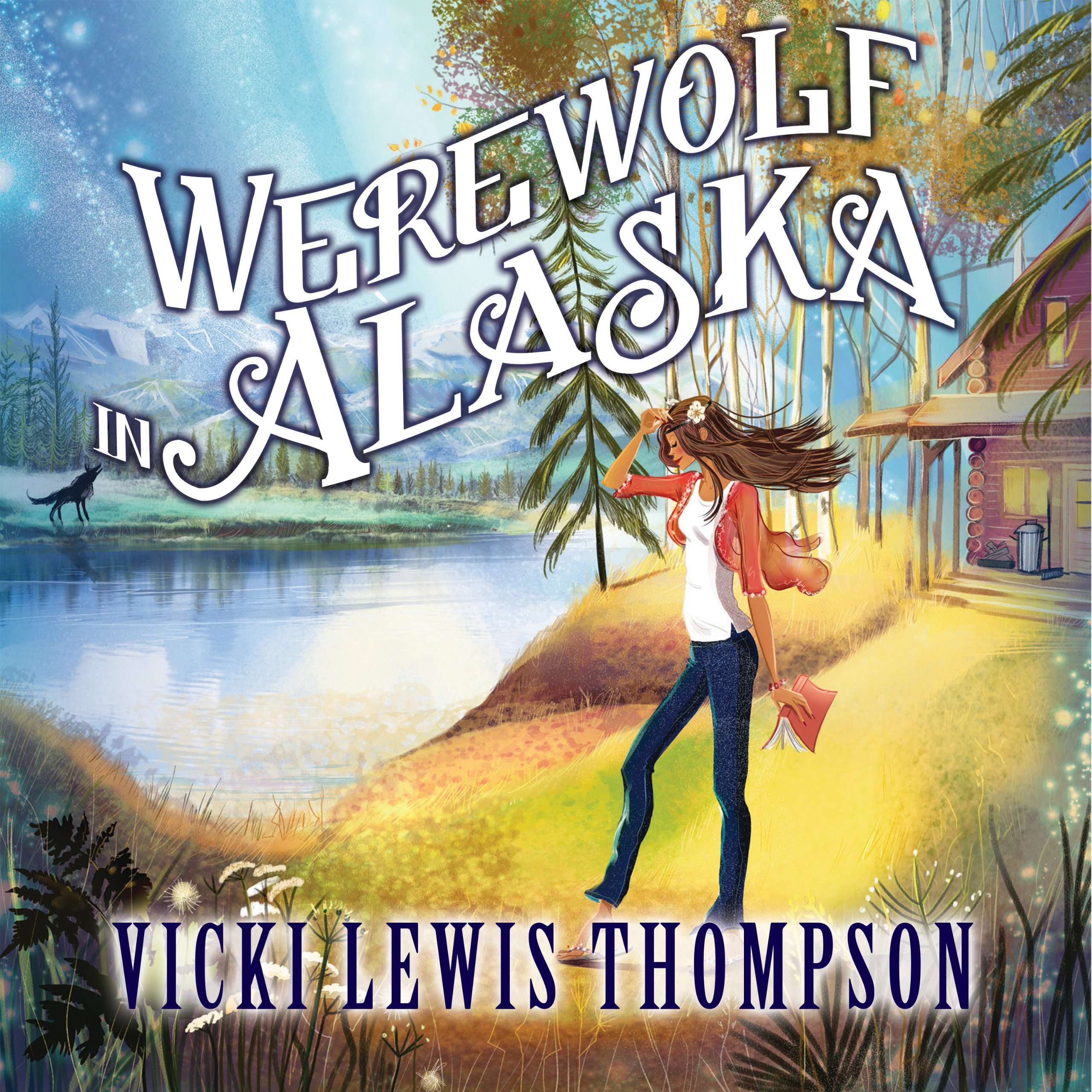 Printable Werewolf in Alaska: A Wild about You Novel Audiobook Cover Art