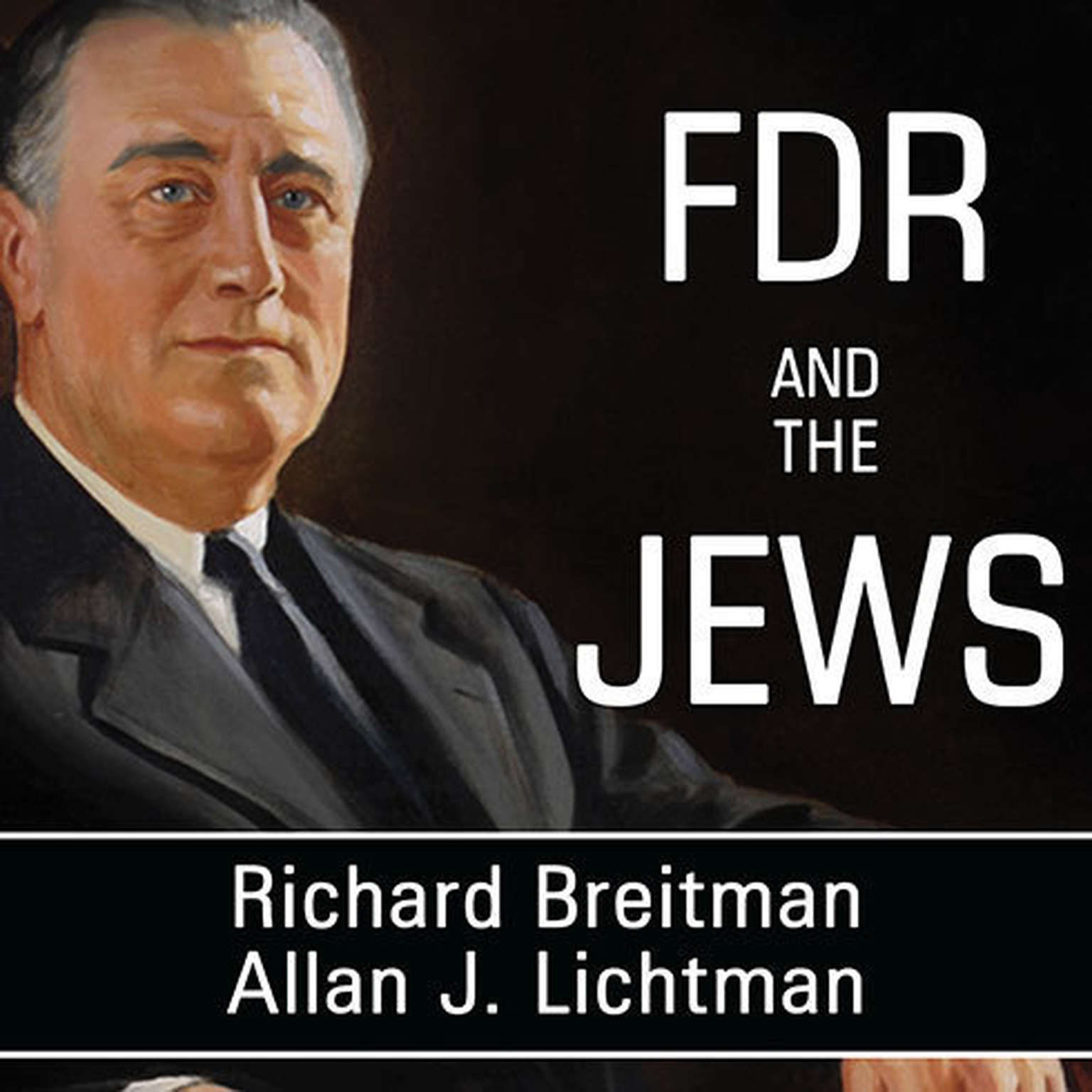 Printable FDR and the Jews Audiobook Cover Art