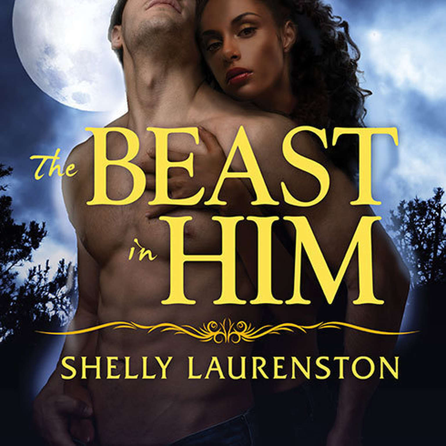Printable The Beast in Him Audiobook Cover Art