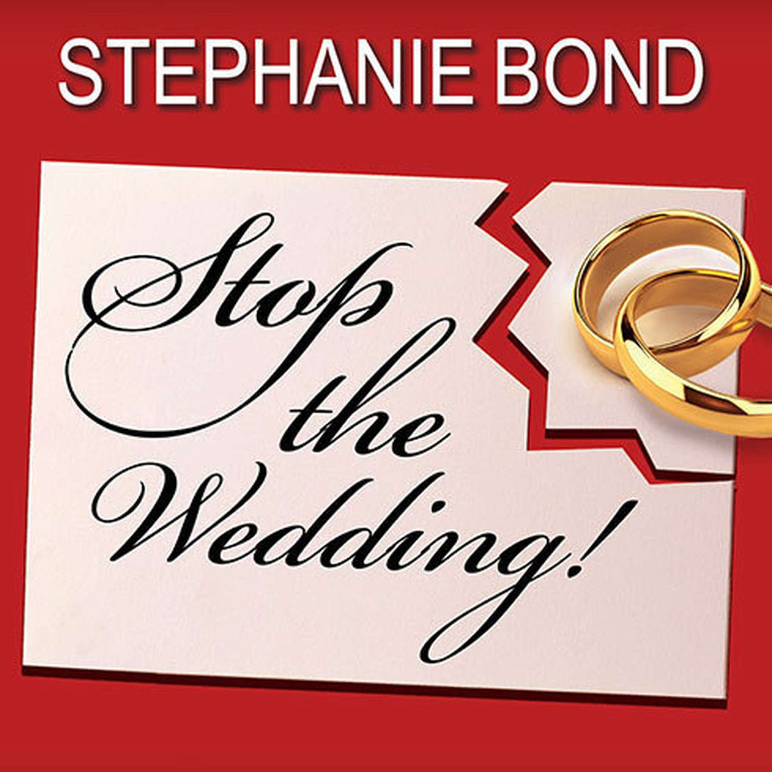 Printable Stop the Wedding! Audiobook Cover Art