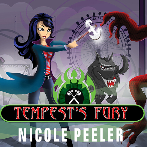 Printable Tempest's Fury Audiobook Cover Art