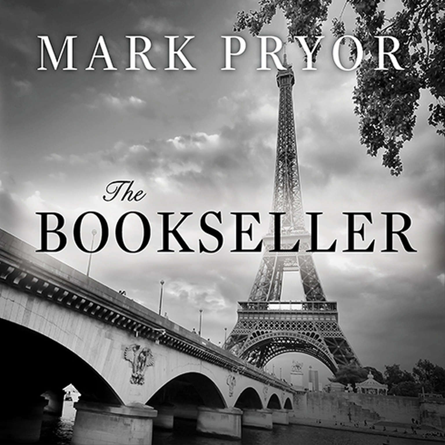 Printable The Bookseller: The First Hugo Marston Novel Audiobook Cover Art