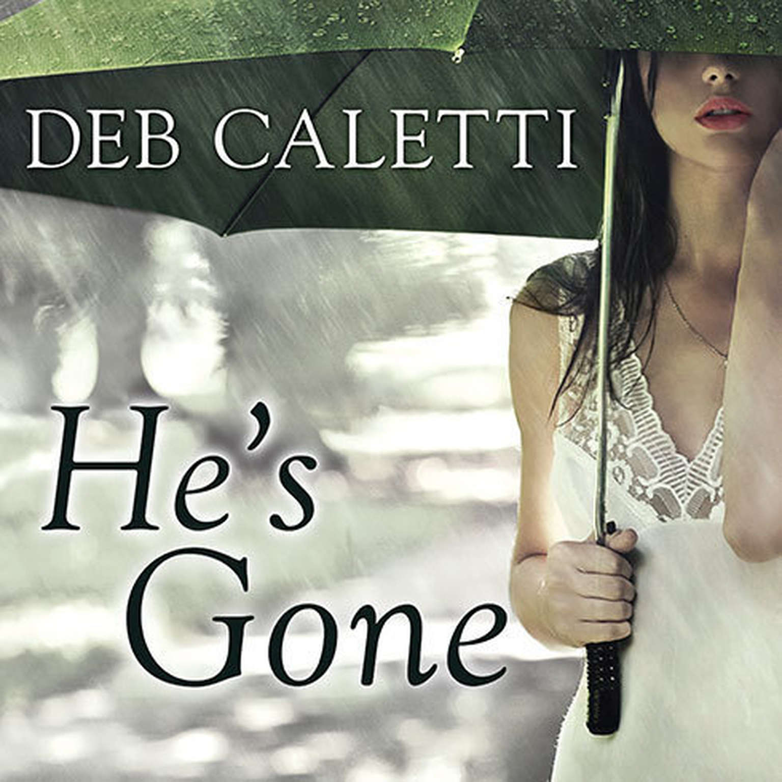 Printable He's Gone Audiobook Cover Art