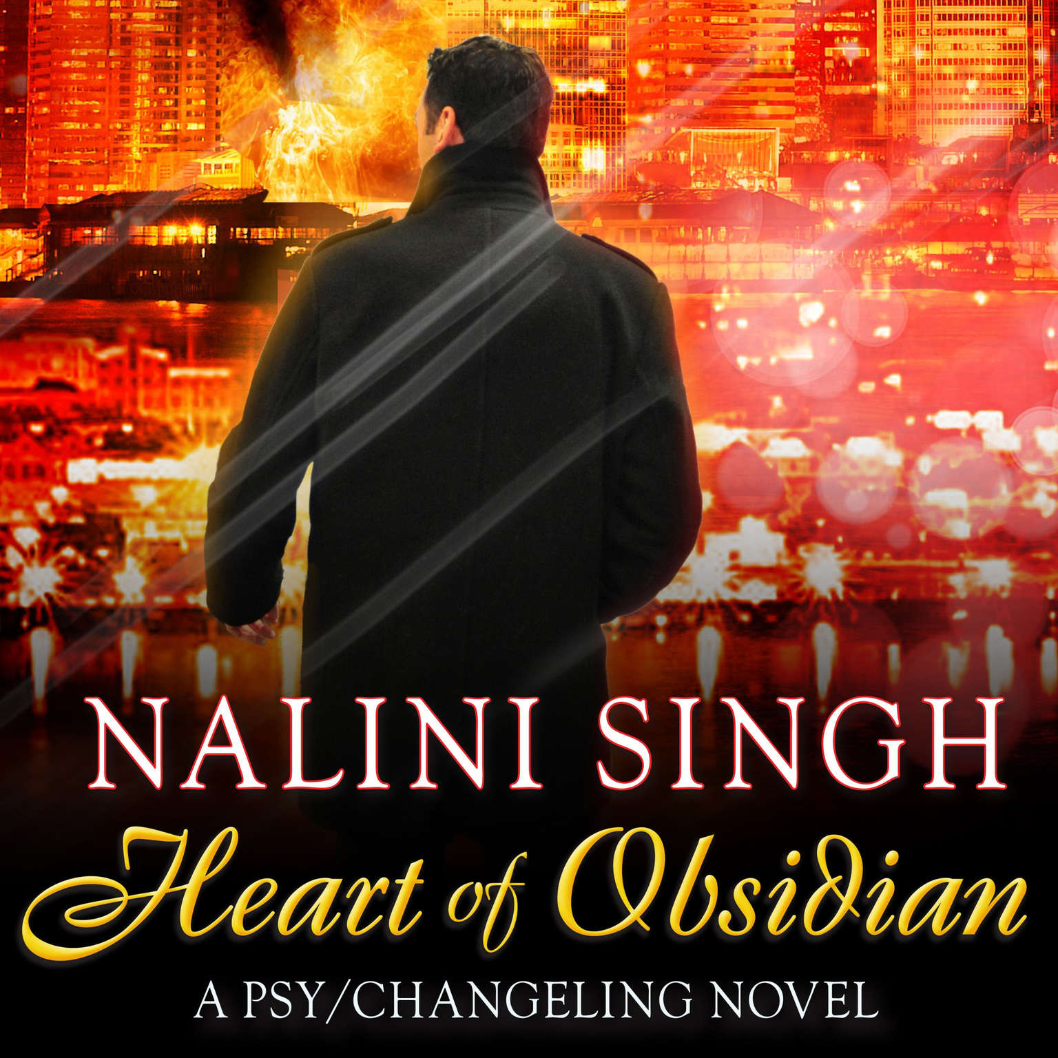 Heart of Obsidian Audiobook, by Nalini Singh