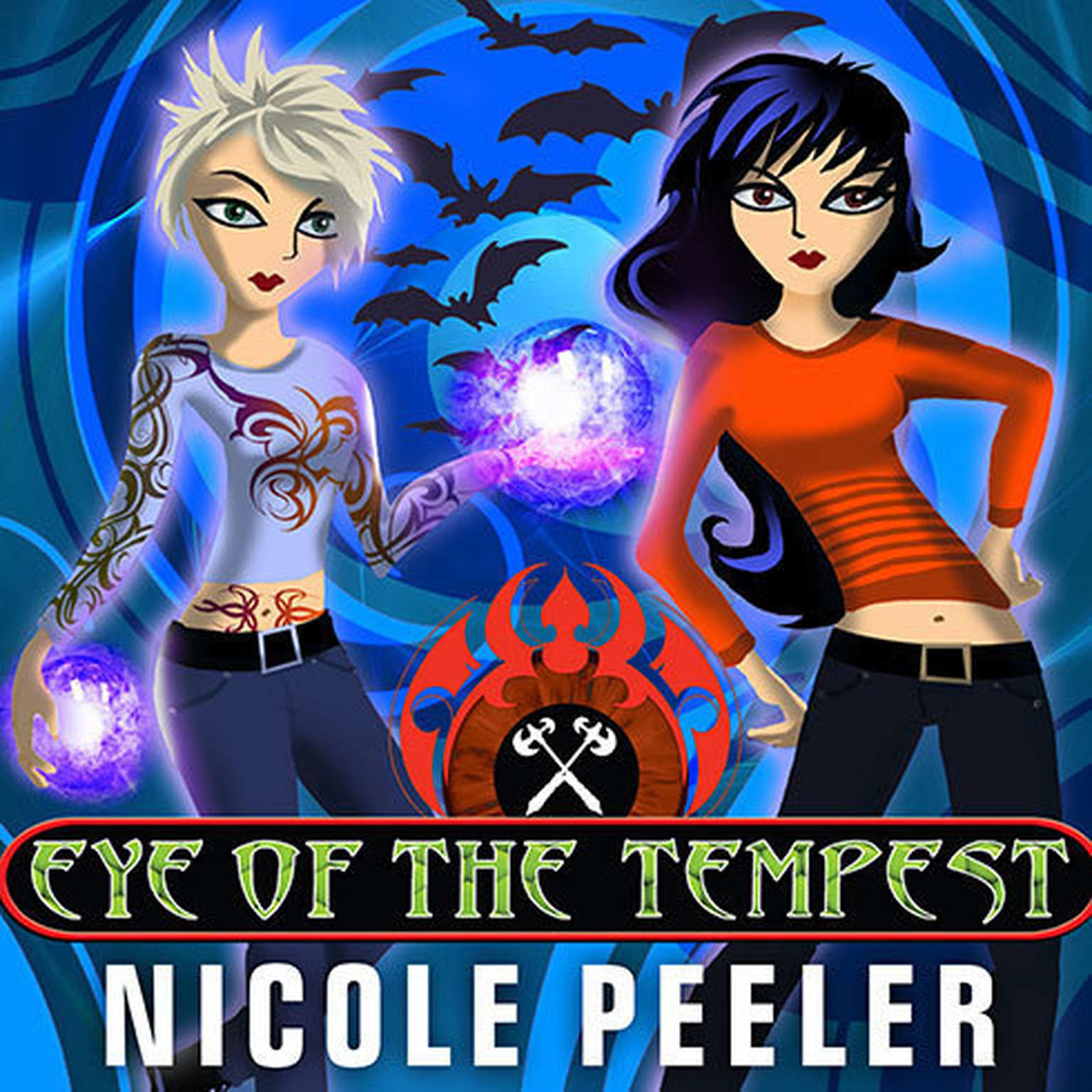 Printable Eye of the Tempest Audiobook Cover Art