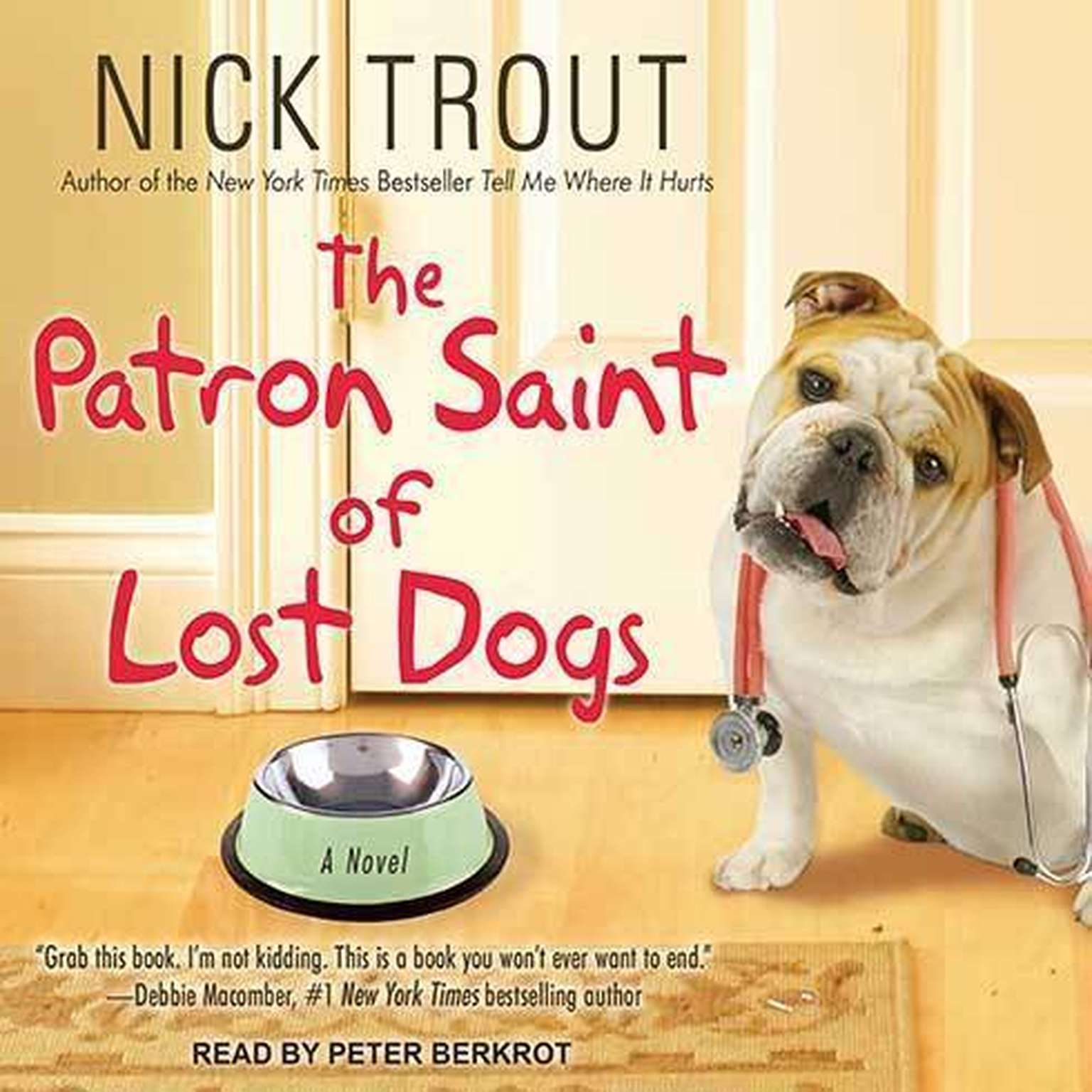 Printable The Patron Saint of Lost Dogs Audiobook Cover Art
