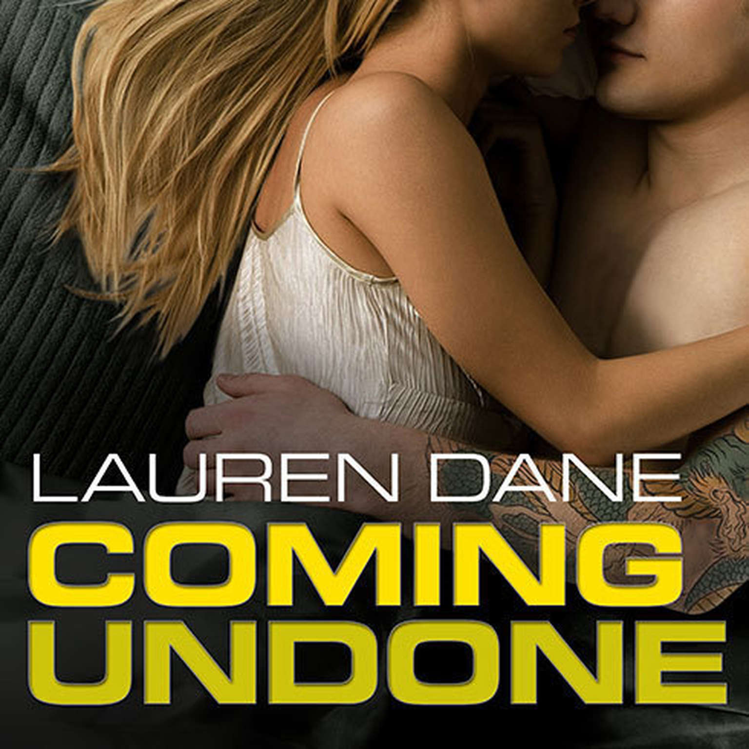 Printable Coming Undone Audiobook Cover Art