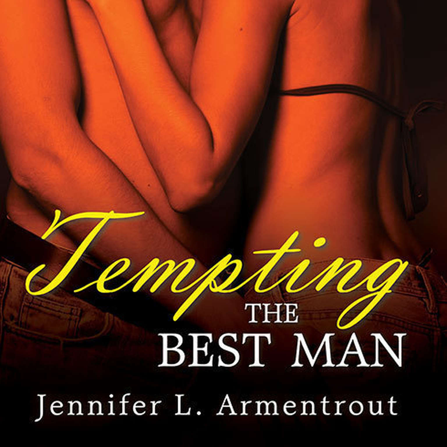 Printable Tempting the Best Man Audiobook Cover Art
