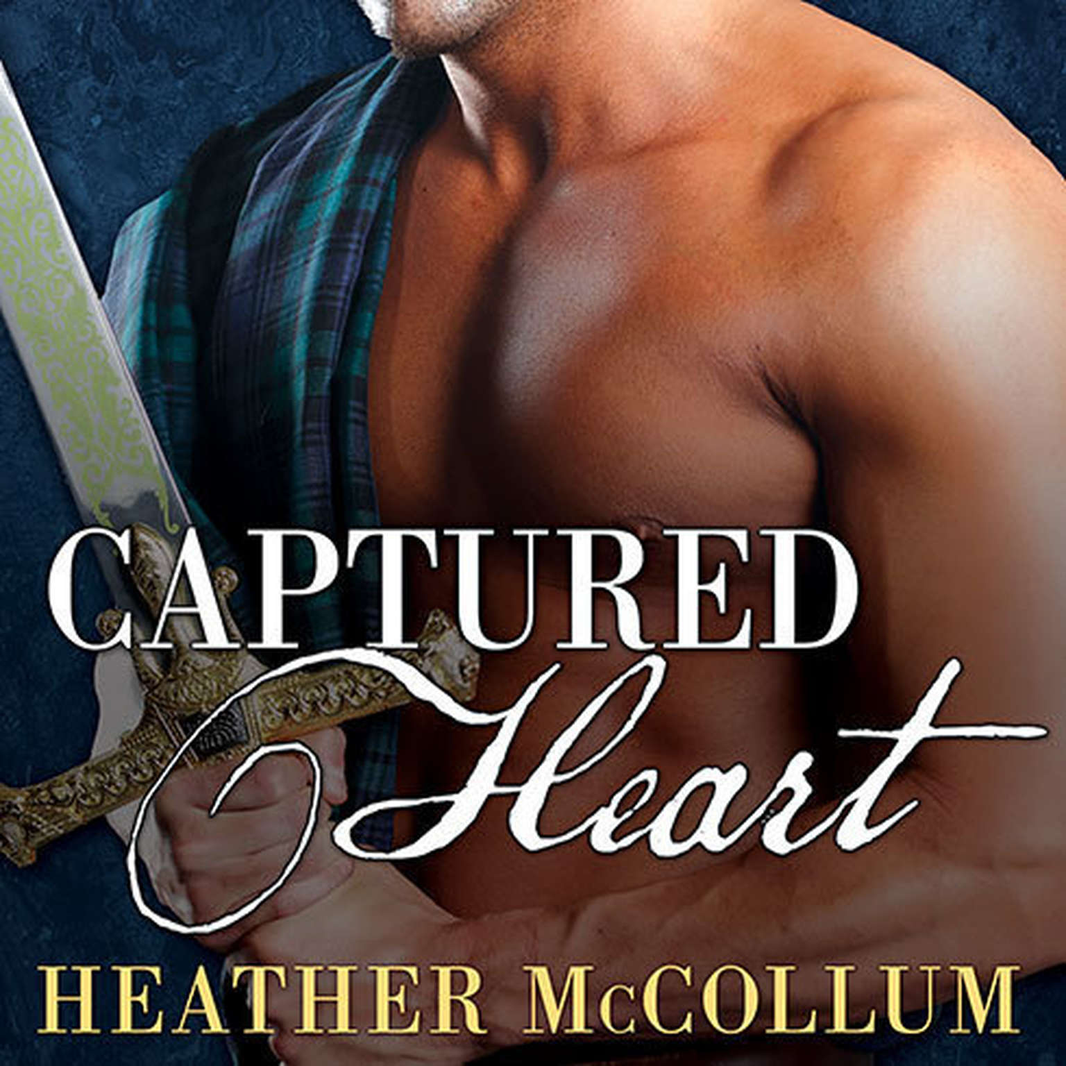 Printable Captured Heart Audiobook Cover Art