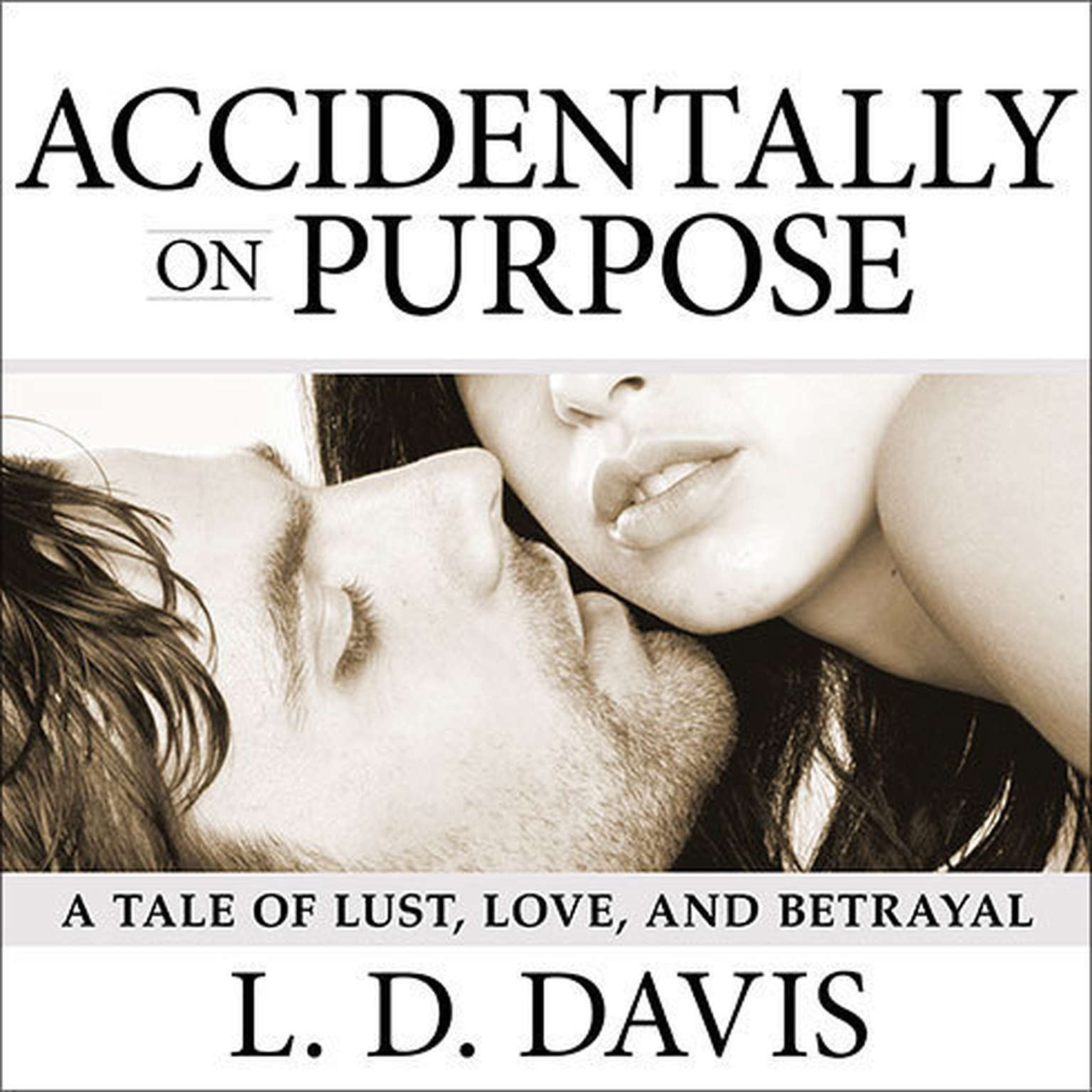 Printable Accidentally on Purpose Audiobook Cover Art