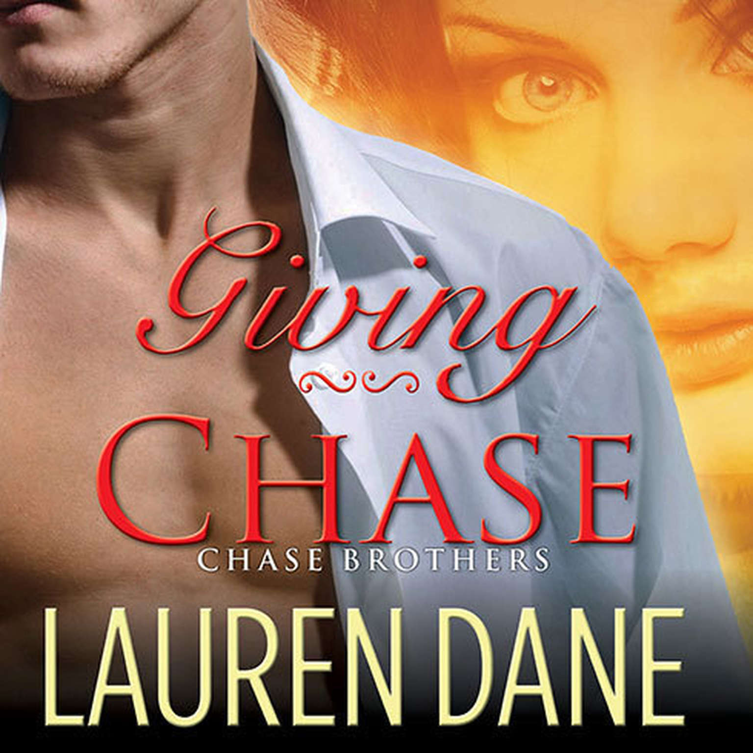 Printable Giving Chase Audiobook Cover Art