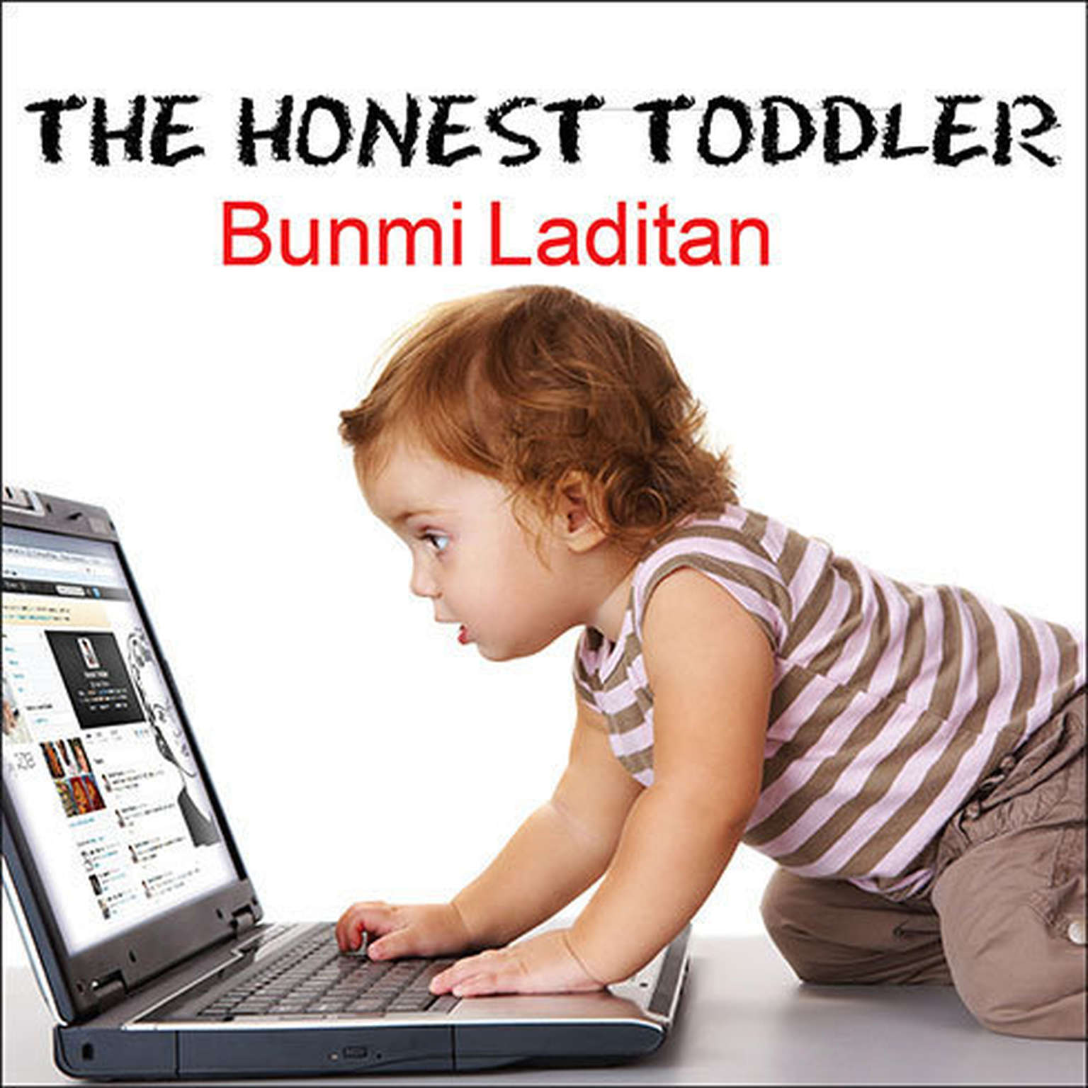 Printable The Honest Toddler: A Child's Guide to Parenting Audiobook Cover Art