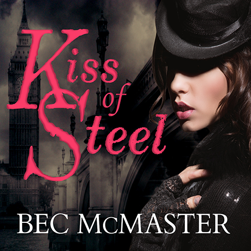 Printable Kiss of Steel Audiobook Cover Art