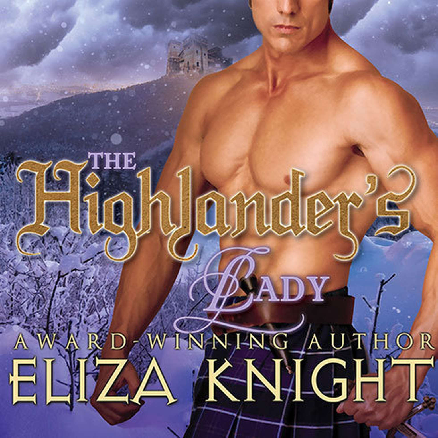 Printable The Highlander's Lady Audiobook Cover Art