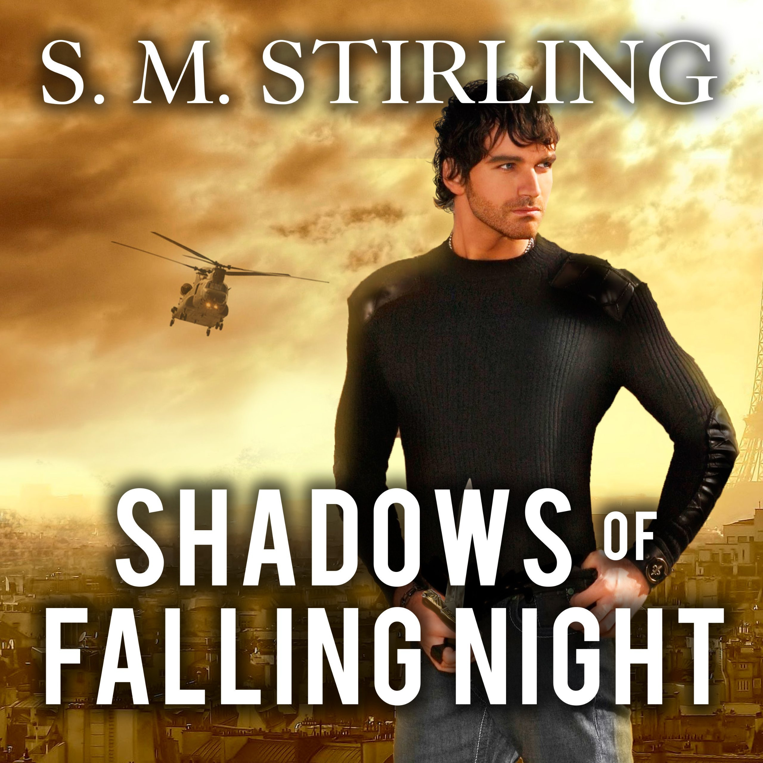 Printable Shadows of Falling Night: A Novel of the Shadowspawn Audiobook Cover Art
