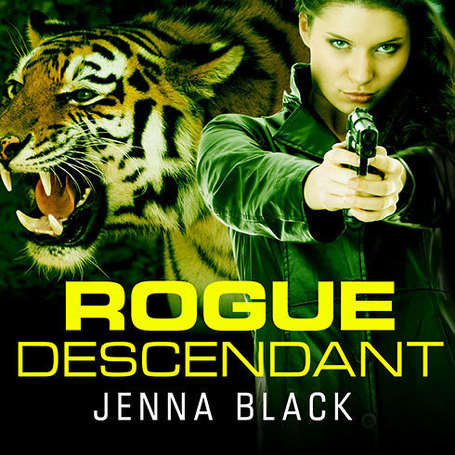 Printable Rogue Descendant Audiobook Cover Art