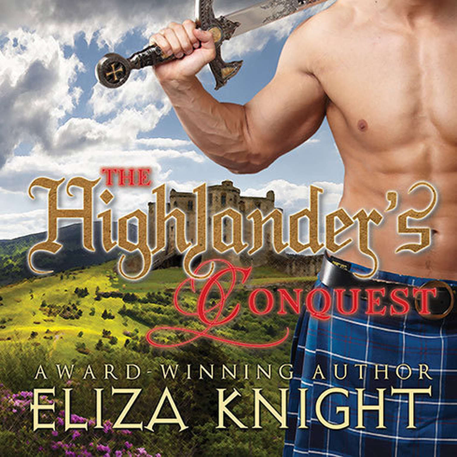 Printable The Highlander's Conquest Audiobook Cover Art