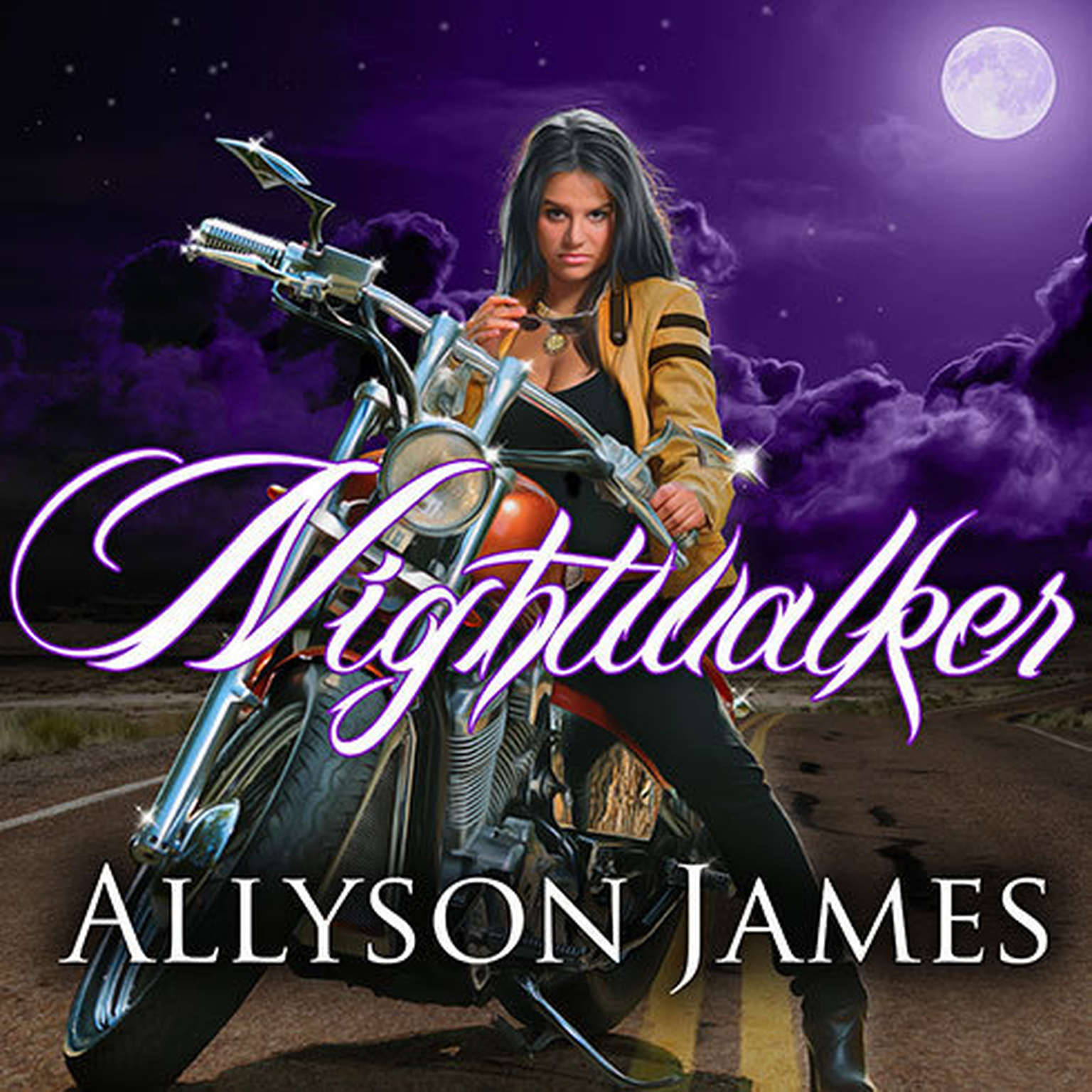 Printable Nightwalker Audiobook Cover Art