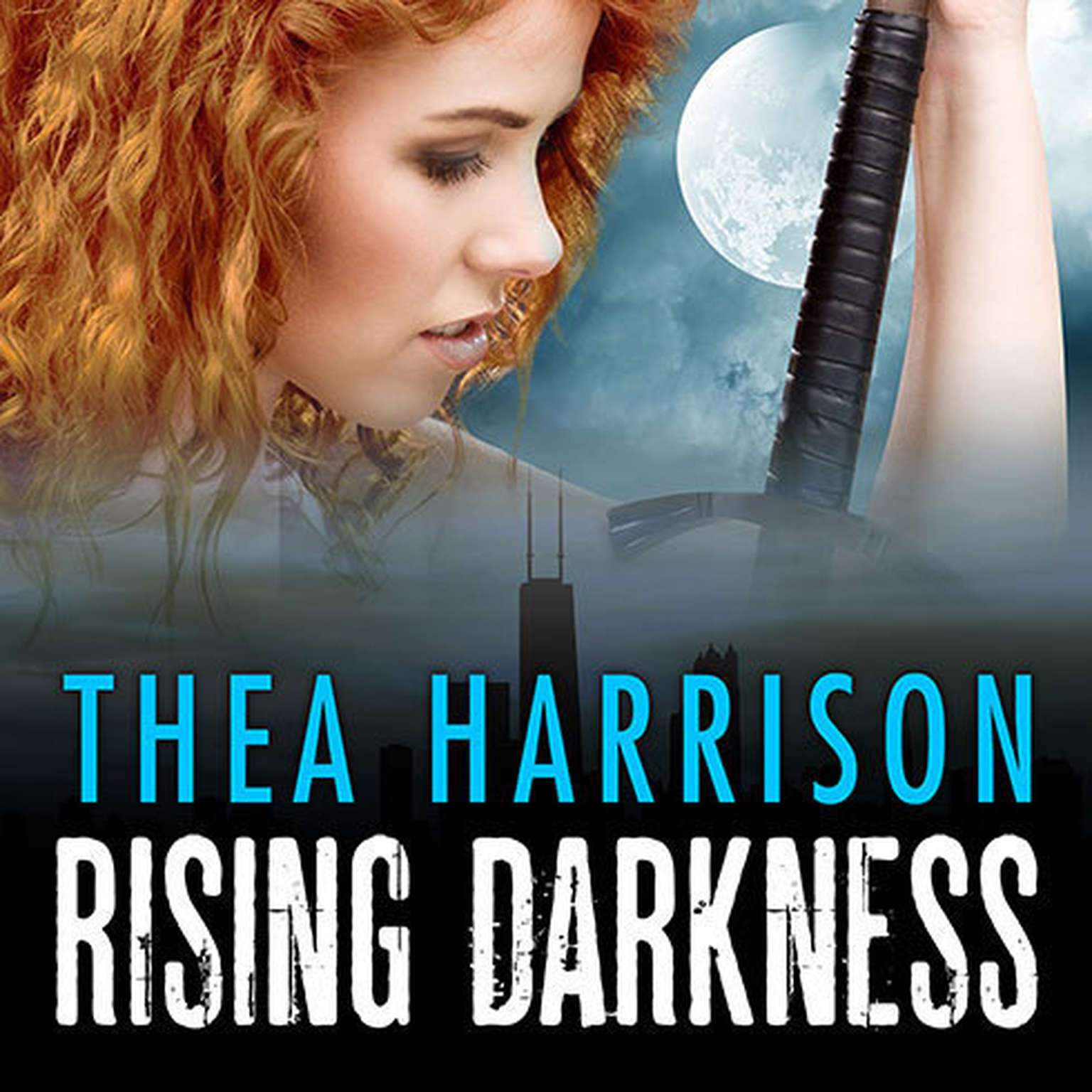 Printable Rising Darkness Audiobook Cover Art