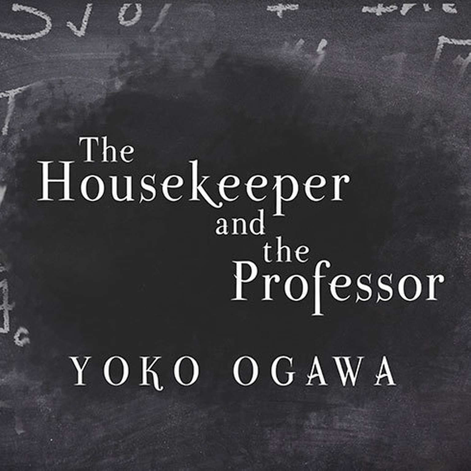 Printable The Housekeeper and the Professor Audiobook Cover Art